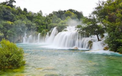 Turquoise Waters Of Krka National Park