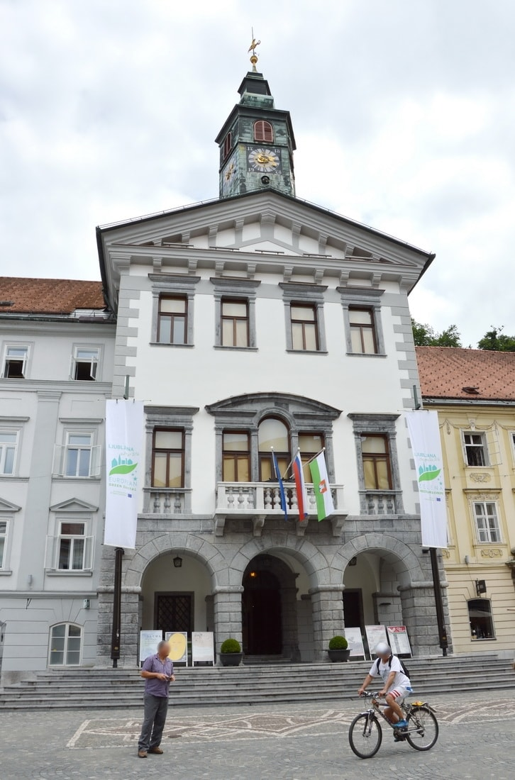 Town hall of Ljubljana