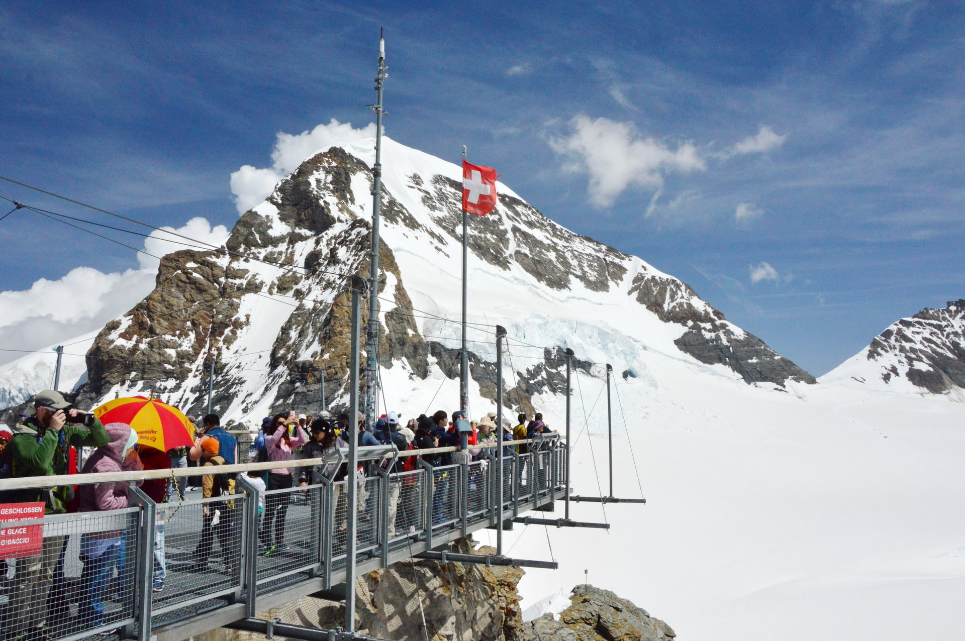 The highest spot at Jungfraujoch – The Top of Europe
